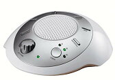 HoMedics SS-2000G/F-AMZ Sound Spa Relaxation マシーン with 6 ネイチャー Sounds, シルバー, パック of 2 「汎用品」(海外取寄せ品)
