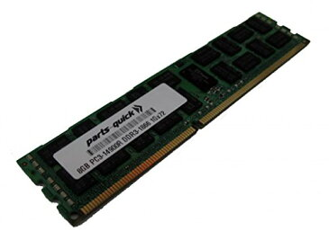 8GB メモリ memory Upgrade for SuperMicro X9SRE Motherboard DDR3 PC3-14900 1866 MHz ECC レジスター DIMM RAM (PARTS-クイック BRAND) (海外取寄せ品)
