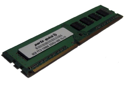 8GB DDR3 Memory Upgrade for HP Compaq Workstation Z420 PC3-12800E ECC Unbuffered DIMM 240 ピ...