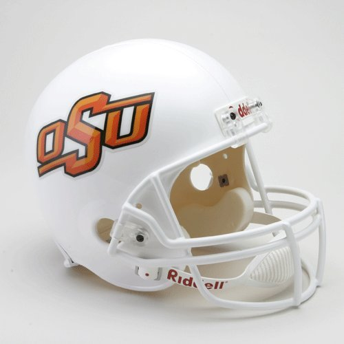 Oklahoma State カウボーイ Deluxe レプリカ ヘルメット - College レプリカ ヘルメット (海外取寄...