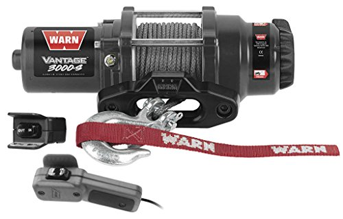 New Warn バンテージ 3000 lb Winch With シンセティック Rope & Model Specific Mounting Hardwar...