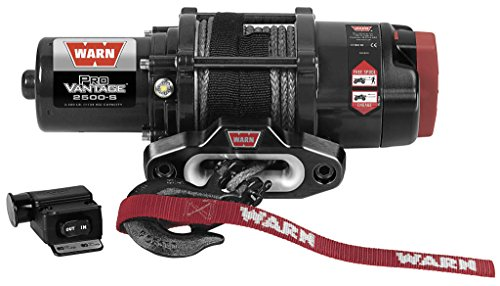 New Warn ProVantage 2500 lb With シンセティック Rope & Model Specific Mounting Hardware - 20...