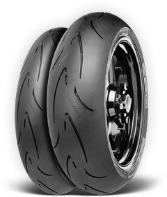 CONTINENTAL MOTION Tire セット 120/70zr17 フロント & 180/55zr17 Rear 180 55 17 120 70 17 2 Tire セット (海外取寄せ品):シアター