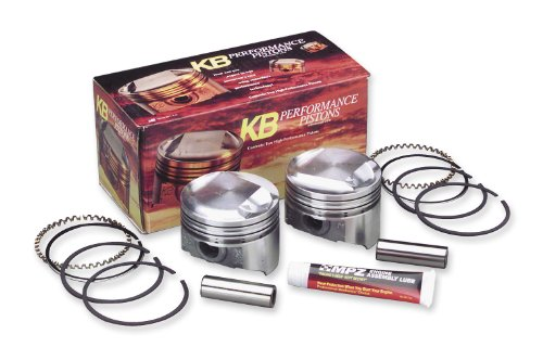 KB パフォーマンス キャスト Piston キット (80ci., Domed) - .020in. オーバーサイズ to 3.518in....