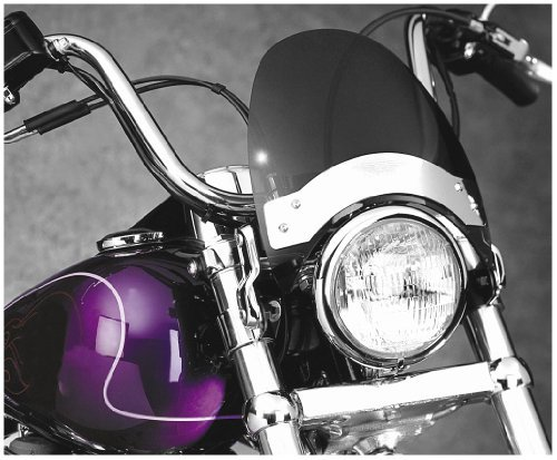 National Cycle Fork Mount Flyscreen Windshield For ハーレーダビッドソン Harley Davidson FX 1...