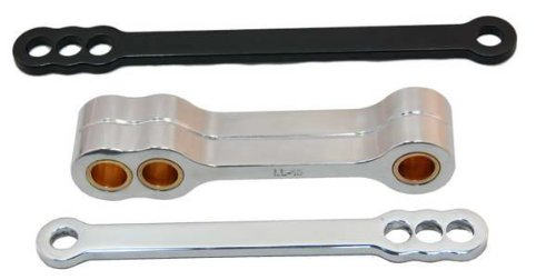 Powerstands レーシング Lowering リンク ブラック for ヤマハ YZF R6 YZFR6 06-09 (海外取寄せ品)