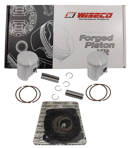Wiseco (SK1232) 76.50mm 2-Stroke Piston キット for スキー-Doo Snowmobile (海外取寄せ品):シアター