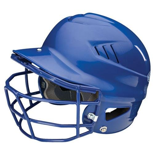 Rawlings Coolflo Batting ヘルメット with Faceguard (Black ) (海外取寄せ品)