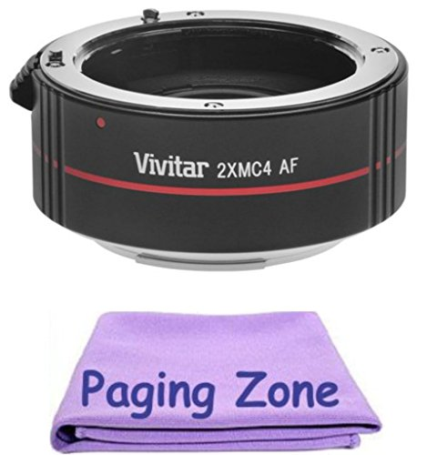 2x Teleconverter (4 Elements) + PZ Cleaning クロス for Canon EF 70-200mm f/2.8L IS USM (海外取寄せ品)