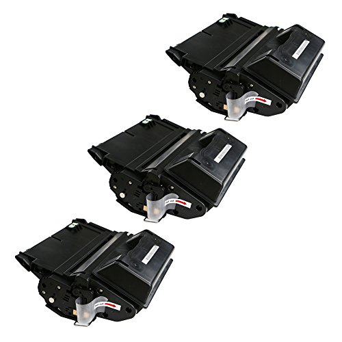 BavvoR Compatible Toner Cartridge for HP Q5942X use in HP Laserjet 4200dtn Printer(Pack of 3 Black) - 20,000 ページ - With チップ (海外取寄せ品):シアター