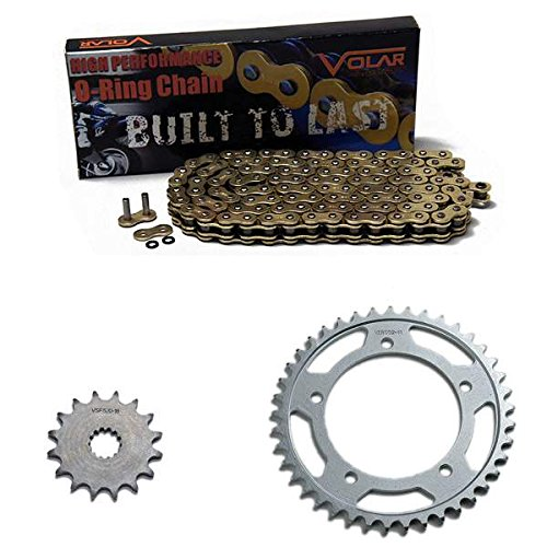 2002-2005 Suzuki Vstrom 1000 DL1000 O-リング チェーン and Sprocket キット ゴールド (海外取寄...