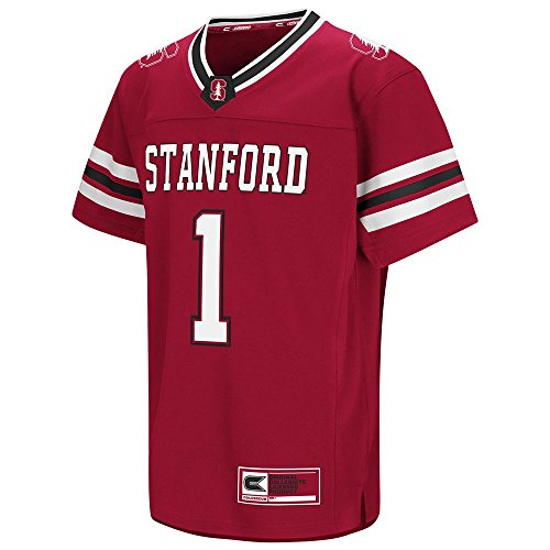 Youth NCAA Stanford Cardinal Football ファッション ジャージー (Team Color) - L (海外取寄せ品...