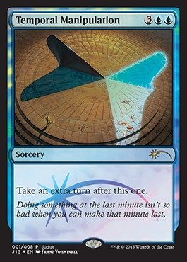 おもちゃ, その他  Magic: the Gathering - Temporal Manipulation (001008) - Judge Promos - Foil ()