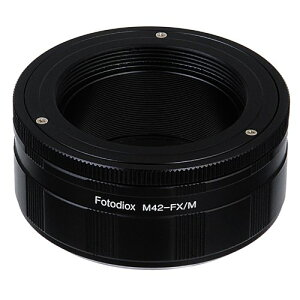 Fotodiox レンズ Mount Adapter with Macro Focusing Helicoid , M42 ネジ Mount レンズ to Fujifilm X Camera Body (X-Mount), for Fujifilm X-Pro1, X-E1 Mirrorless Camera, Variable Magnification Helicoil (海外取寄せ品)