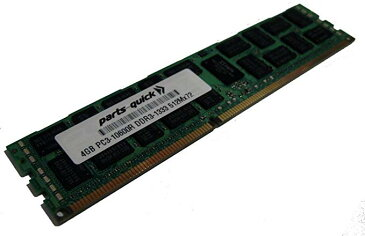 4GB メモリ memory Upgrade for Supermicro SuperServer 6027TR-H70QRF DDR3 1333MHz PC3-10600 ECC レジスター Server DIMM (PARTS-クイック BRAND) (海外取寄せ品)