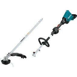 Makita XUX01ZM5 18V X2 (36V) LXT Lithium-イオン Brushless Cordless Couple Shaft Power Head with ストリング Trimmer Attachment, Tool オンリー 「汎用品」(海外取寄せ品)