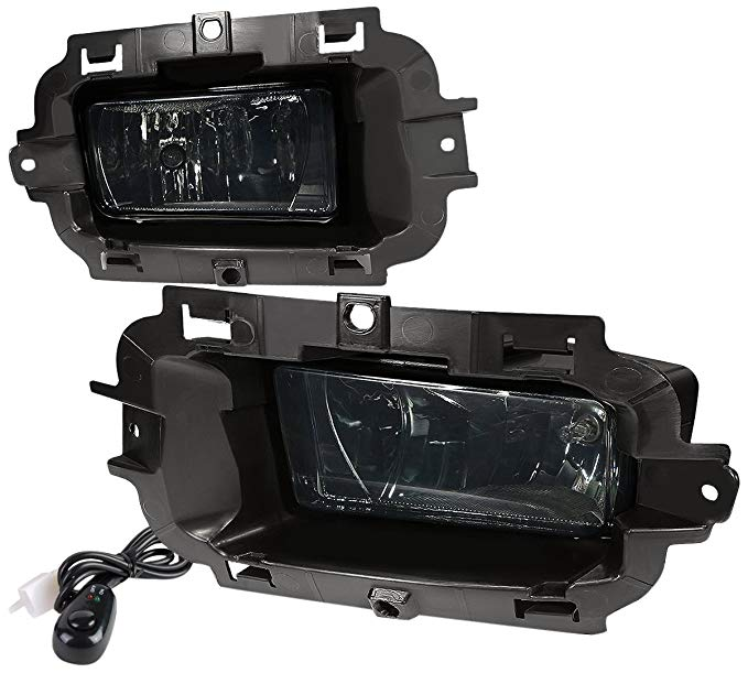 車・バイク, その他 DNA motoring FL-ZTL-803-SM Fog Light Assembly (Driver and Passenger Side) ()