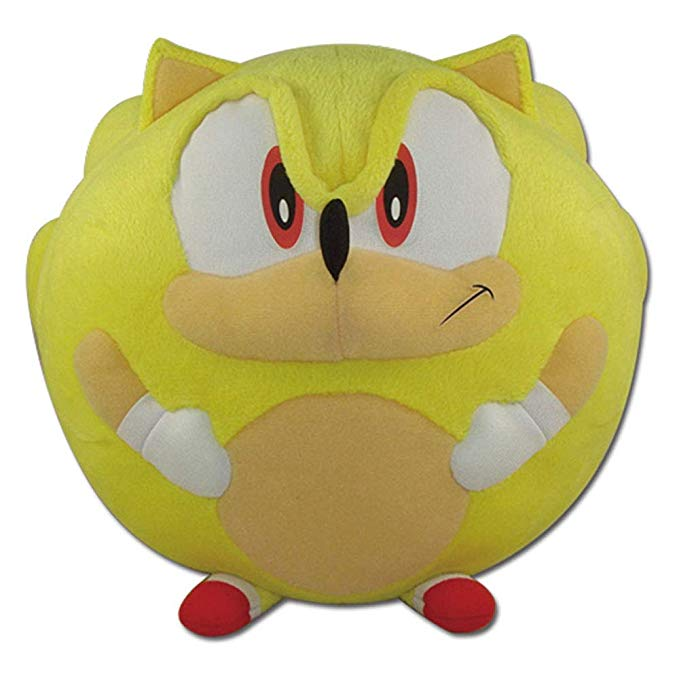 おもちゃ, その他  Eastern Sonic the Hedgehog Super Sonic Ball Plush 8 ()