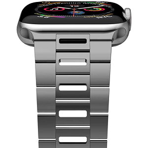 [New Version] iiteeology Compatible with iWatch バンド 40mm 38mm, Ultra ティン Breathable ステンレス スチール バンド ストラップ Compatible with Apple ウォッチ Series 5/4/3/2/1 メンズ レディース (40mm/38mm Space Gray) (海外取寄せ品)