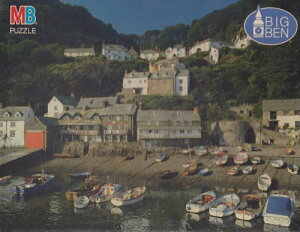 Clovelly Harbour England ビッグ Ben 1000 ピース パズル (海外取寄せ品)