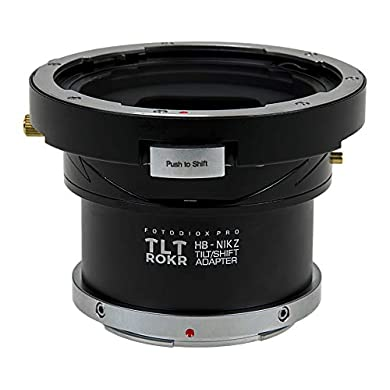 交換レンズ用アクセサリー, その他 Fotodiox TLT ROKR - TiltShift Mount Adapter Compatible with Mamiya 645 (M645) Mount Lenses to Nikon Z-Mount Mirrorless Camera Body ()