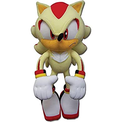 おもちゃ, その他 GE Animation Eastern GE-52631 Sonic the Hedgehog Super Stuffed Plush, 12 ()