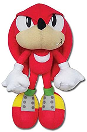おもちゃ, その他  Eastern Sonic the Hedgehog GE-7090 Knuckles Stuffed Plush, 9 ()
