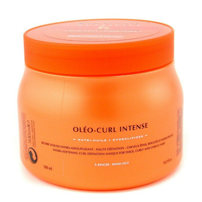 KerastaseNutritive Oleo-Curl Intense Masque (For Thick Curly and Unruly Hair)ケラスターゼニュートリティブ オレオカールインテンスマスク 500ml/16.9oz