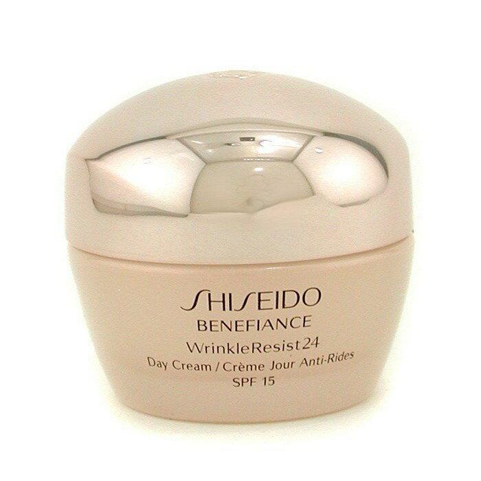 ShiseidoBenefiance WrinkleResist24 Day Cream SPF 15資生堂ベネフィアンス Wレジスト24 デークリーム 50ml/1.8oz【楽天海外直送】