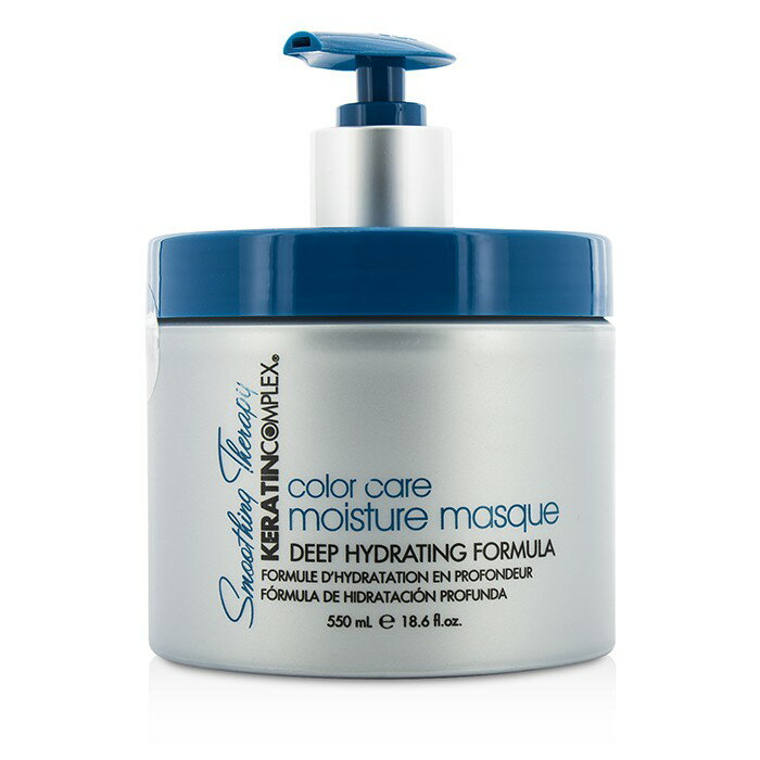 Keratin ComplexSmoothing Therapy Keratin Color Care Moisture Masque (Deep Hydrating Formula)ケラチンコンプレックスSmoothing Therapy Keratin Color Care Moisture Masque (Deep Hydrating Formula) 550ml/18.6oz