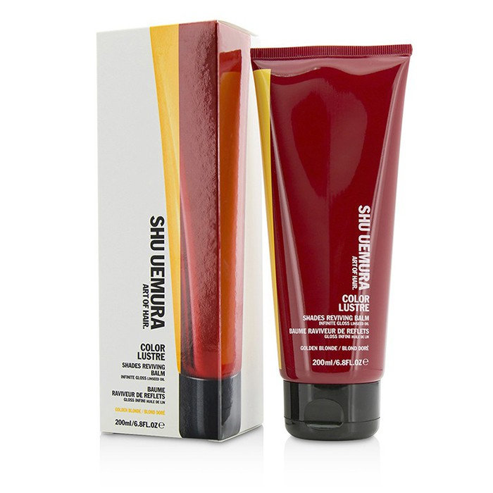 Shu UemuraColor Lustre Shades Reviving Balm - # Golden BlondeシュウウエムラColor Lustre Shades Reviving Balm - # Golden Blonde 200ml/6.8oz