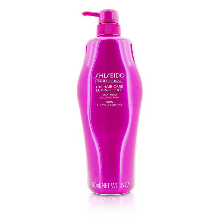 ShiseidoThe Hair Care Luminoforce Treatment (Colored Hair)資生堂The Hair Care Luminoforce Treatment (Colored Hair) 980ml/35oz