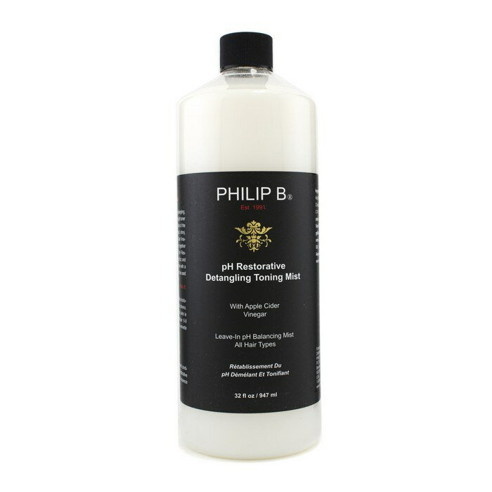 Philip BpH Restorative Detangling Toning Mist (For All Hair Types)フィリップ BpH リストラクティブ ディタングルトーニングミスト 947ml/32oz