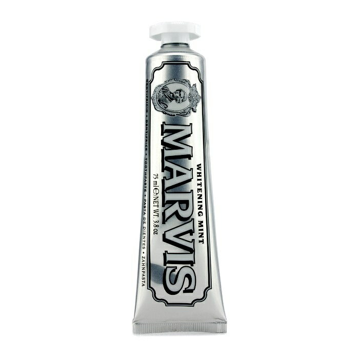 Marvis Whitening Mint Toothpaste マーヴィス ホワイトニングミント トゥースペースト 75ml/3.8oz 【楽天海外直送】