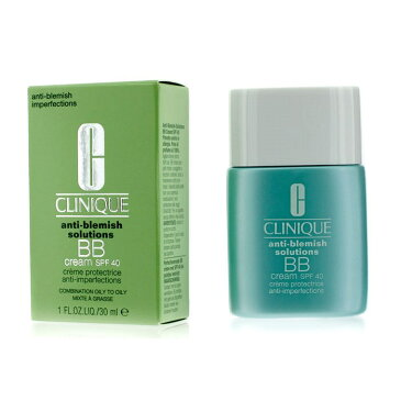 CliniqueAnti-Blemish Solutions BB Cream SPF 40 - Medium (Combination Oily to Oily)クリニークオイルコントロール BB クリーム 40 -【楽天海外直送】