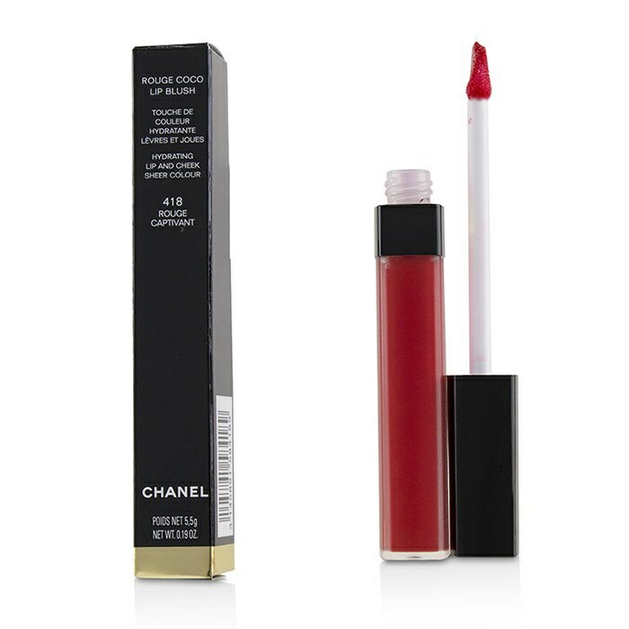 CHANEL 418 Chanel Rouge Coco Lip Blush Hydrating...
