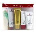 Elizabeth Arden Daily Beauty Essentials Set: Purifying Cream Cleanser+ Eight Hour Cream+ Eight Hour Cream SPF 15+ Ei 【楽天海外直送】
