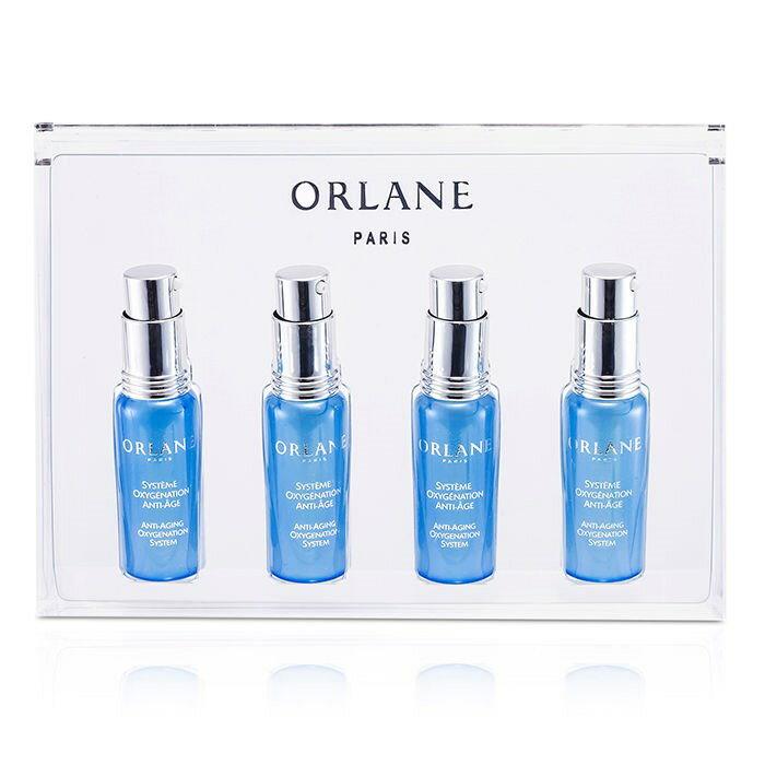 OrlaneAnti-Aging Oxygenation Systemオルラーヌアンチエイジング オキシジェネーション システム 4x7.5ml/0.25oz【海外直送】:The Beauty Club