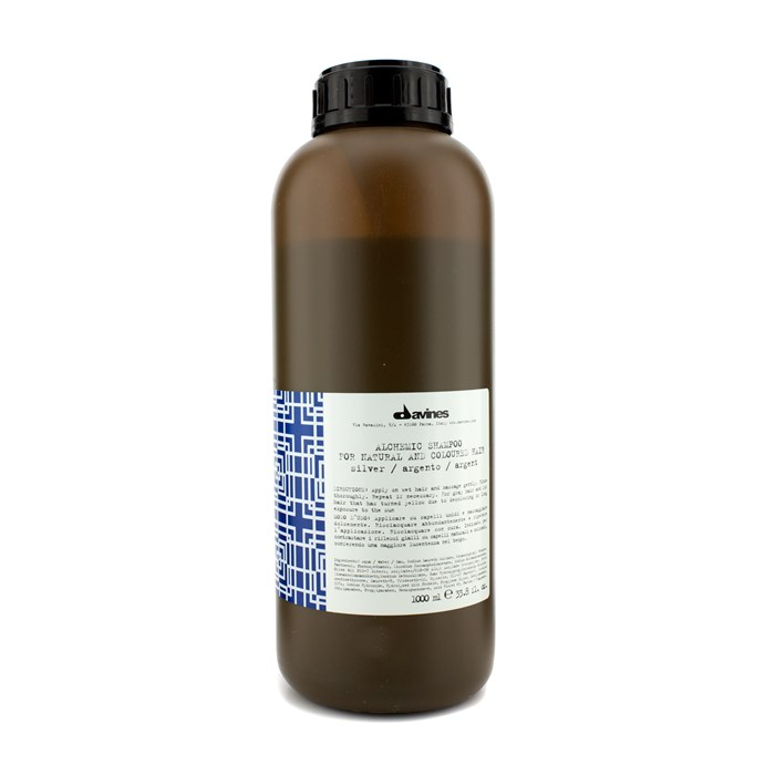 DavinesAlchemic Shampoo Silver (For Natural & Coloured Hair)ダヴィネスアルケミック シルバー 1000ml/33.8oz