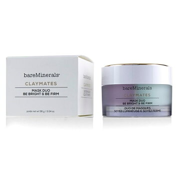 BareMineralsClaymates Be Bright & Be Firm Mask DuoベアミネラルClaymates Be Bright & Be Firm Mask Duo 58g/2.04oz【楽天海外直送】