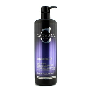 100%本物保証 送料無料 返金保証TigiCatwalk Fashionista Violet Shampoo (For Blondes and Hig...