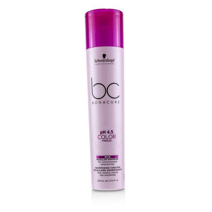 カラーリング, その他 Schwarzkopf BC Bonacure pH 4.5 Color Freeze Rich Micellar Shampoo (For Overprocessed Coloured Hair)