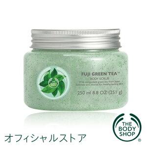 【数量限定】<スクラブ洗浄料・ジェルタイプ> BODY SCRUB FUJI GREEN TEA【正規品】<スクラ...