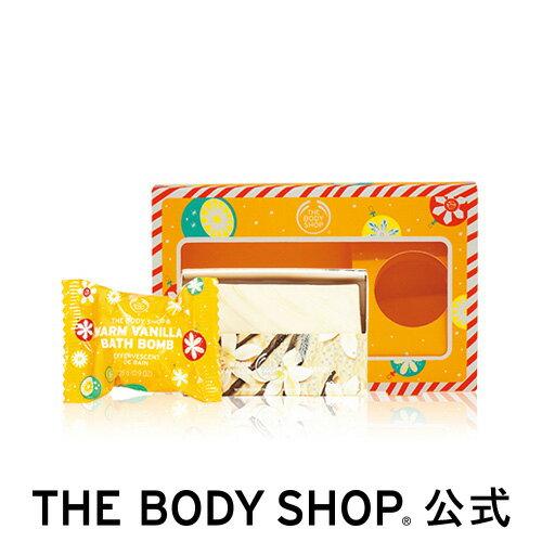 【正規品】【数量限定】ソープ&バスボムギフト ウォームバニラ【THE BODY SHOP(ザ・ボディショップ)】 クリスマスコフレ