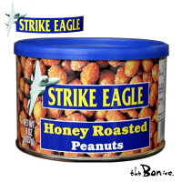 STRIKEEAGLEストライクイーグルハニーローストピーナッツ227gアメリカ缶蜂蜜ローストピーナッツナッツ輸入食品輸入菓子ボン商会theboninc父の日