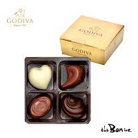 GODIVAゴディバゴールドコレクション4Pベルギーチョコレートベルギーチョコチョコ高級お菓子海外輸入ギフトプレゼントボンボン商会大阪