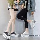 レディース 厚底スニーカー サンダル かかとなし スニーカー キャンパス 白 ホワイト 黒 ブラック 履きやすい 婦人靴 カジュアル スニーカー サンダル スニーカー キャンバススニーカー 厚底靴 韓国風 歩きやすい 通気性いい 疲れにくい