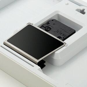 リズムAシリーズクオーツ掛置兼用A4サイズホワイト8MG815SR03インテリア