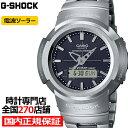 【1日はポイント最大41.5倍&最大3万円OFFクーポン】G-SHOCK ジーショック フルメタル AWM-500D-1AJF メンズ 腕時計 電波ソーラー アナデジ ブラック 国内正規品 カシオ