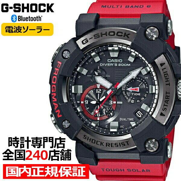腕時計, メンズ腕時計 36.55000OFFG-SHOCK GWF-A1000-1A4JF Bluetooth MASTER OF G FROGMAN